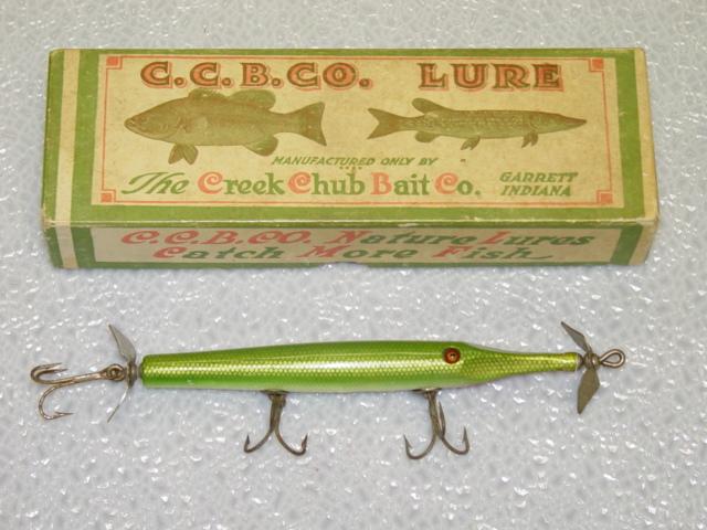 Vintage lures gars for Gar fishing lures